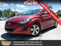 New Arrival! This 2011 Hyundai Elantra GLS, has a great