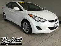 Recent Arrival! 2011 Hyundai Elantra in Shimmering