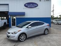 Options:  2011 Hyundai Elantra Limited|Silver|**One