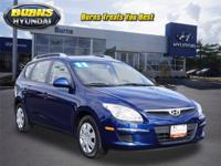 Very low miles, One Owner Q Certified Blue Elantra GLS