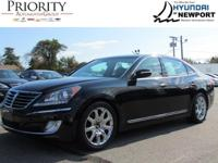 The 2011 Hyundai Equus ready for a new home. This 4.6L