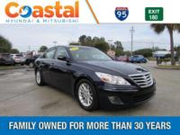 This 2011 Hyundai Genesis 3.8 in features: RWD Recent