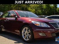 This Genesis features: Leather. Clean CARFAX. Odometer