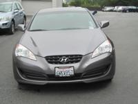 - Certified - -CARFAX ONE OWNER- THIS Genesis Coupe