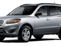 Climb inside the 2011 Hyundai Santa Fe! This vehicle