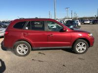 CARFAX One-Owner. Red 2011 Hyundai Santa Fe Limited AWD