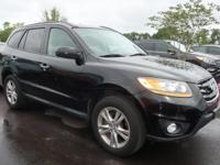 2011 Hyundai Santa Fe Limited AWD 6-Speed Automatic