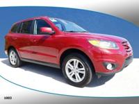 New Price! This 2011 Hyundai Santa Fe SE in Sonoran Red