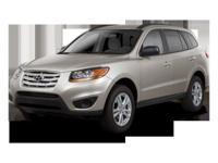 This 2011 Hyundai Santa Fe SE is Well Equipped with