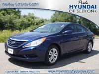 Who could resist this 2011 Hyundai Sonata GLS? It comes