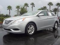-New Arrival- This Silver 2011 HYUNDAI SONATA GLS is