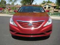 2011 Hyundai Sonata GLS Sedan 4D, Xm Satellite,Text