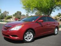 2011 Hyundai Sonata GLS Sedan 4D, Xm Satellite, Text