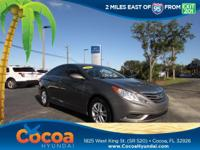 This 2011 Hyundai Sonata GLS in Harbor Gray Metallic