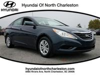 Indigo Night 2011 Hyundai Sonata GLS FWD 6-Speed