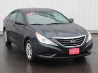 Options:  2011 Hyundai Sonata Gls|Blue|Accident Free
