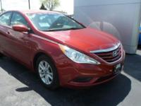2011 Sonata Hyundai GLS Venetian Red 4-Wheel Disc