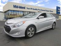 This 2011 Hyundai Sonata Hybrid is Well Equipped with