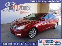 Red 2011 Hyundai Sonata SE FWD 6-Speed Automatic with