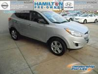 This Local One Owner Trade-in 2011 Hyundai Tucson GL