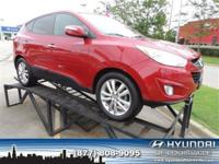 Tucson Limited, 4D Sport Utility, FWD, Alloy wheels,