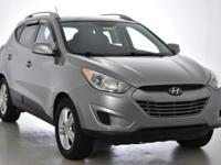 Recent Arrival! This 2011 Hyundai Tucson GLS in Silver