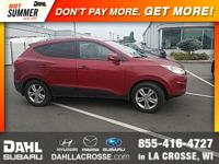 2011 Hyundai Tucson GLS Clean CARFAX. Alloy wheels,