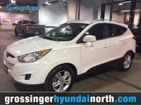 Our Hyundai Tucson GLS in White is an ideal blend of