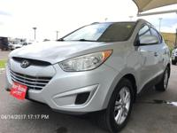 Load your family into the 2011 Hyundai Tucson! It just