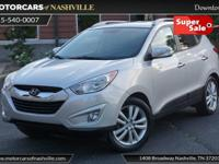This 2011 Hyundai Tucson 4dr Limited features a 2.4L I4