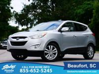 2011 Hyundai Tucson in Silver. Muscle machine. A