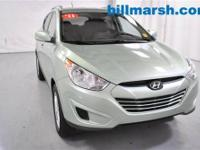 Tucson GLS, 4WD, Kiwi Green, Air Conditioning, CD