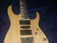 I am selling my used 2011 Ibanez RG Series Ash Body