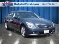 2011 Infiniti G25 4D Sedan Our Location is: Galpin Ford