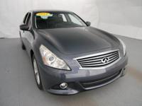 2011 Infiniti G25 X in Blue... AWD. Join us at Champion
