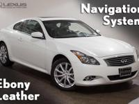 2011 Infiniti G37 X. AWD, Graphite Leather, and