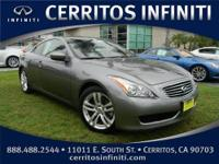 2011 Infiniti G37 Coupe 2dr Journey RWD Condition:Used