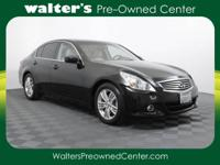 Options:  2011 Infiniti G37 Sedan|Black/Tan|V6 3.7L