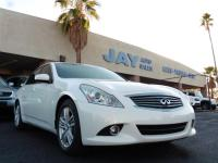 Options:  2011 Infiniti G 37 4Dr