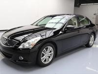This awesome 2011 Infiniti G37 comes loaded with the