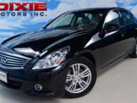 2011 INFINITI G37 - AUTOMATIC - LEATHER - FULL POWER -