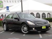 This 2011 Infiniti G37 4dr Journey Sedan features a 3.7