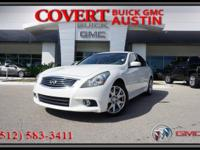 2011 INFINITI G37 Sport four door sedan! Expertly