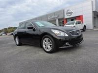 2011 Infiniti G37. AWD. Stability and traction control