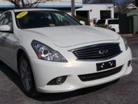 Just Reduced! 2011 Infiniti G37 in Moonlight White,