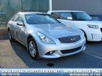 Look at this 2011 INFINITI G37 Sedan x. Its Automatic