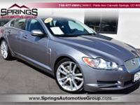 Ready for anything!! This quality 2011 Jaguar XF