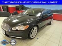 ONE OWNER, LEATHER, NAVIGATION, and SUNROOF. XF Premium