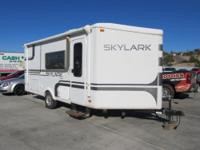 This 21 ft Jayco Skylark is awesome!! This rig is