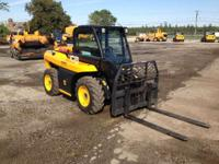 2011 JCB 515-40 JCB 3 300 pound Telehandler As the